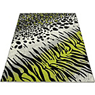 more details on Melrose Animal Print Rug - 120x170cm - Green.