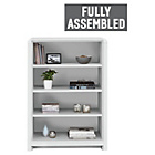 more details on Heart of House Elford Short Bookcase White.