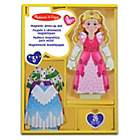 more details on Melissa and Doug Princess Elise Magnetic Dress-up Doll.