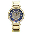 more details on Juicy Couture Ladies' Luxe Couture Blue Dial Bracelet Watch.