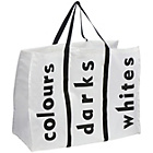 more details on Premier Housewares Black and White Polyester Laundry Bag.