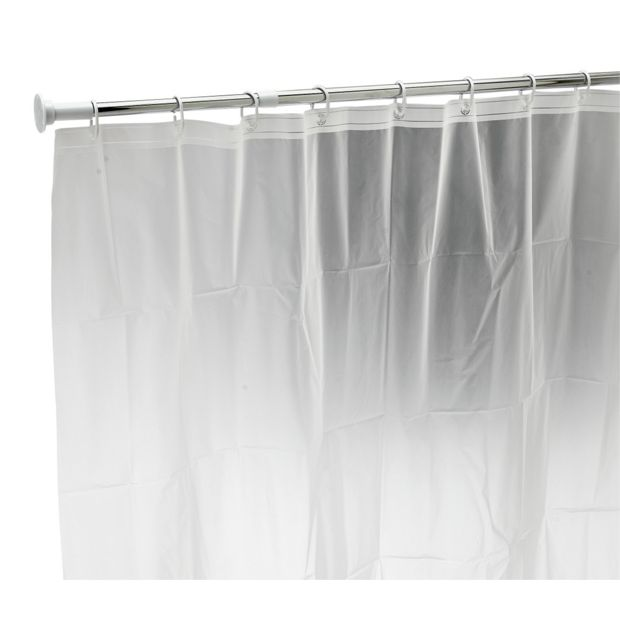 Buy Home Telescopic Shower Curtain Rail With Curtain At