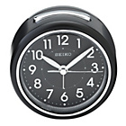 more details on Seiko Black Round Alarm Clock.