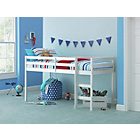 more details on Kaycie Mid Sleeper Single Bed Frame - White.