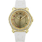 more details on Juicy Couture Ladies' Pedigree White Multi Stone Strap Watch