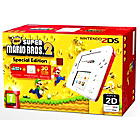 more details on 2DS White/Red Console with Super Mario Bros 2.
