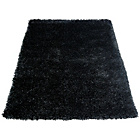 more details on Melrose Ribbon Shaggy Rug - 80x150cm - Black.