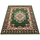 more details on Melrose Maestro Traditional Rug - 60x110cm - Green.