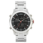 more details on Lorus Men's Stainless Steel Dual Display Sports Watch