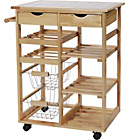 more details on Pine Tile Top Kitchen Trolley.