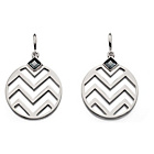 more details on Fiorelli Zig Zag Cut Out Disc Earrings.