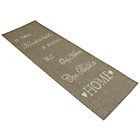 more details on Melrose County Home Script Runner - 67x200cm - Taupe.