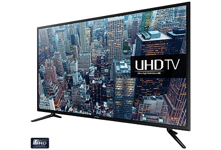 Save up to £300 on selected 4K TVs.