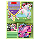 more details on Melissa and Doug Magnetic Wooden Dress Up Doll and Horse.