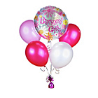 more details on Birthday Girl Helium Balloon Kit.
