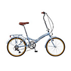 more details on Viking Easy Street 20 Inch Wheel 6 Speed Silver Bike-Unisex.