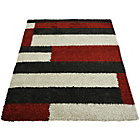 more details on Imperial Blocks Rug - 160x230cm - Red.