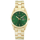 more details on Oasis Green Dial Gold Bracelet Ladies' Watch.