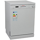 more details on Sharp QW-C13F471W Dishwasher - White.