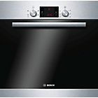 more details on Bosch HBA13B150SS Single Electric Cooker - S/Steel/Exp.Del.