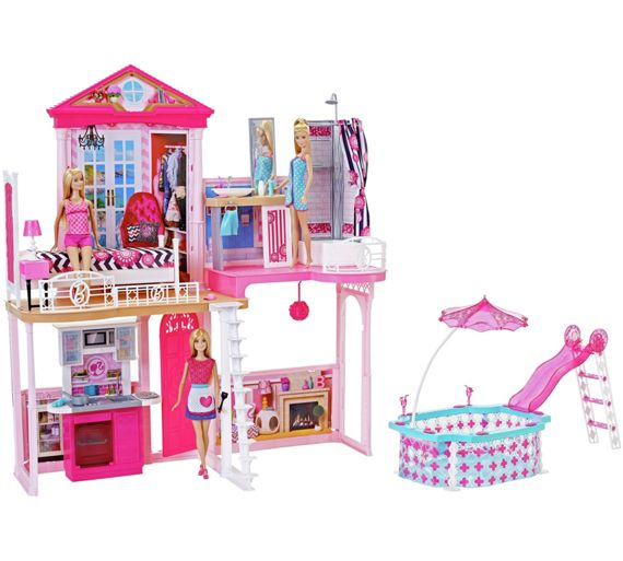 Buy Complete Barbie Home Set At Argos Co Uk Your Online