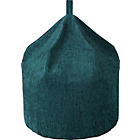 more details on Tessa Polyester Beanbag - Teal.