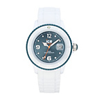 more details on Ice White Watch - White & Blue