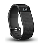 more details on Fitbit Charge HR Large Heart Rate Monitor Wristband - Black.
