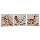 more details on Heart of House Country Animals Canvas - Set of 3.