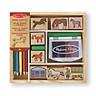 more details on Melissa and Doug Horses Stamp Set.