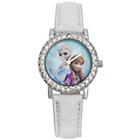 more details on Frozen Crystal Dial White Strap Watch.