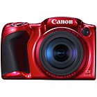 more details on Canon PowerShot SX410 20MP 40x Zoom Bridge Camera - Red.