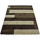 more details on Melrose Imperial Blocks Rug - 80x150cm - Chocolate.