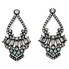 more details on Fiorelli Antique Cluster Statement Earrings.