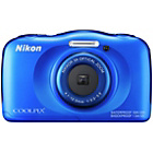 more details on Nikon Coolpix S33 13MP Tough Camera - Blue.