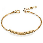 more details on Fiorelli Stud Bar Gold Coloured Bracelet.