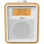 more details on Bush Wooden DAB Clock Radio
