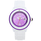 more details on Ice White Watch - White & Violet