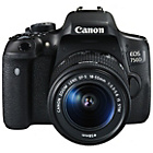 more details on Canon EOS 750D DSLR Camera with 18-55mm IS STM Lens - Black.