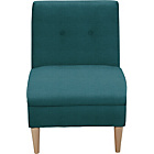 more details on Armless Chair - Teal.