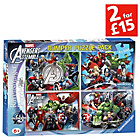 more details on Avengers Assemble 4 x 100 Piece Puzzles