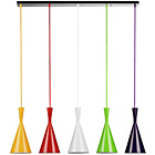 more details on 5 Cone Pendant Light.