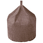 more details on Tessa Polyester Beanbag - Mink.