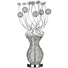 more details on Flower Silver Coloured Aluminium Lamp.