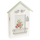 more details on Tranquil Wooden Key Holder House Shape.