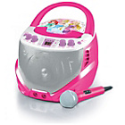 more details on Lexibook Disney Princess CD-G Karaoke Player - Pink