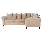 more details on Daisy Right Hand Corner Group Sofa - Mink with Coffee.