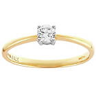 more details on 9ct Gold 0.50ct Diamond Soliatire Ring.