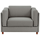 more details on Habitat Colombo Fabric Armchair Sofabed - Grey.