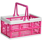 more details on Premier Housewares Hot Pink Folding Storage Basket.